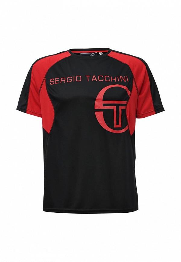 Футболка с коротким рукавом SERGIO TACCHINI TTG01739-BRE_NERO-ROSSO