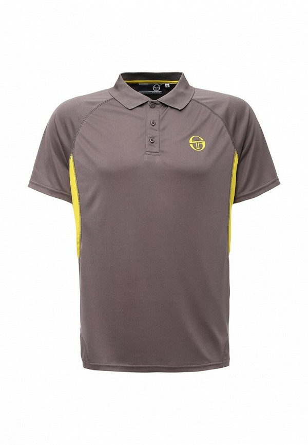 Мужские поло SERGIO TACCHINI TTG01742-GRE_SHARK-BLAZING-YELLOW