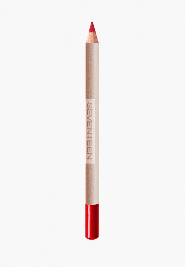 Купить Карандаш для губ Seventeen, устойчивый т.31 LONGSTAY LIP SHAPER Красный, SE039LWUWY66, красный, Весна-лето 2018