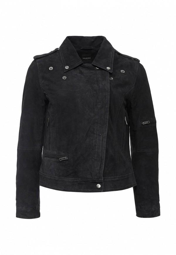 Кожаная куртка Selected Femme 16051162