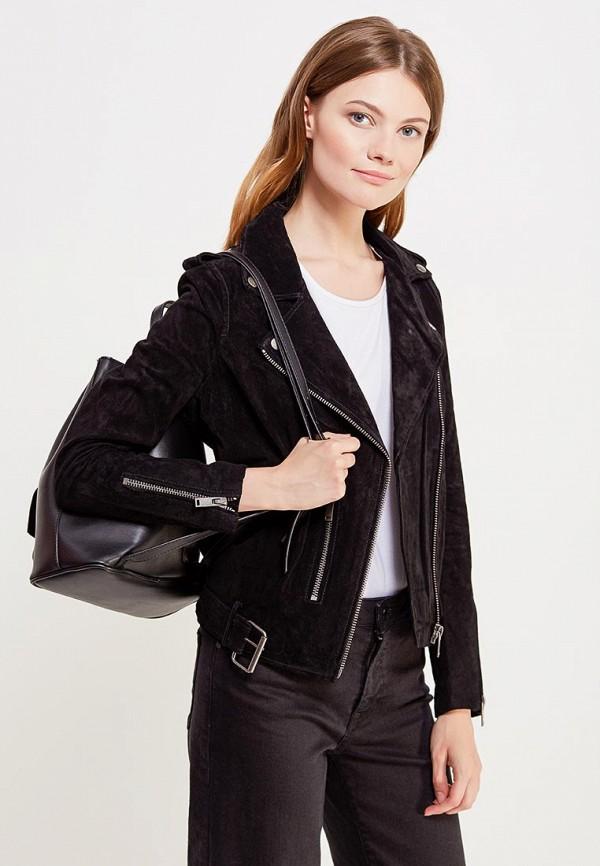 где купить  Куртка кожаная Selected Femme Selected Femme SE781EWUXZ46  по лучшей цене