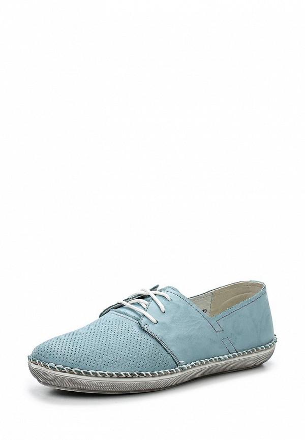 Туфли на плоской подошве Shoiberg 421-02-01-12