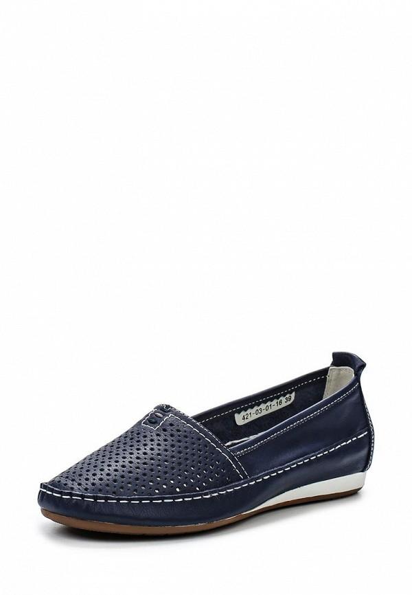 Туфли на плоской подошве Shoiberg 421-03-01-16