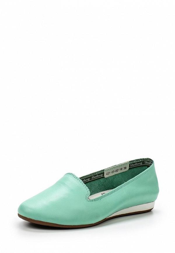 Туфли на плоской подошве Shoiberg 421-03-02-18