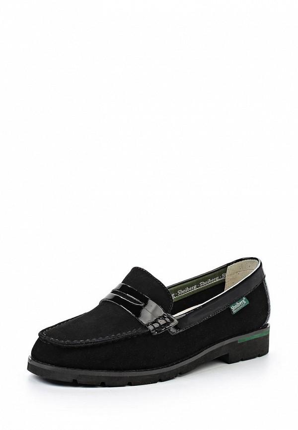 Туфли на плоской подошве Shoiberg 487-49-10-01