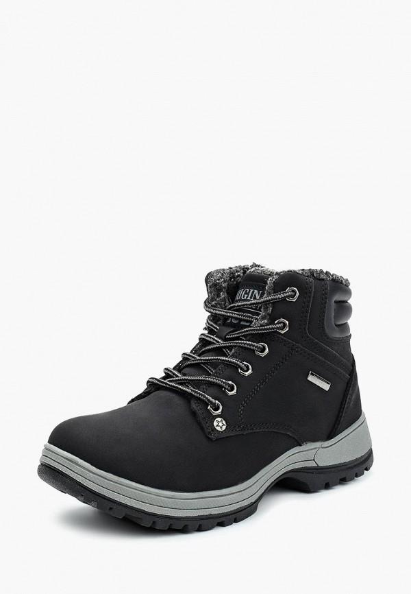 Фото - Ботинки Shuzzi черного цвета