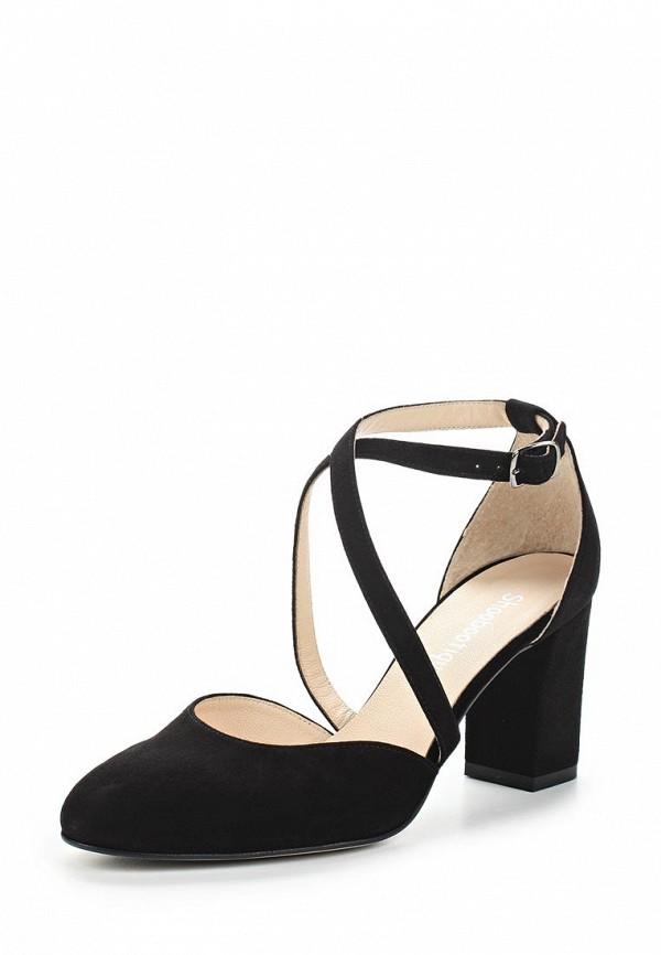 Купить Туфли Shoobootique, SH017AWAJMQ9, черный, Весна-лето 2018