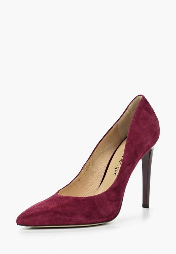 Купить Туфли Shoobootique, SH017AWQSL42, бордовый, Весна-лето 2018
