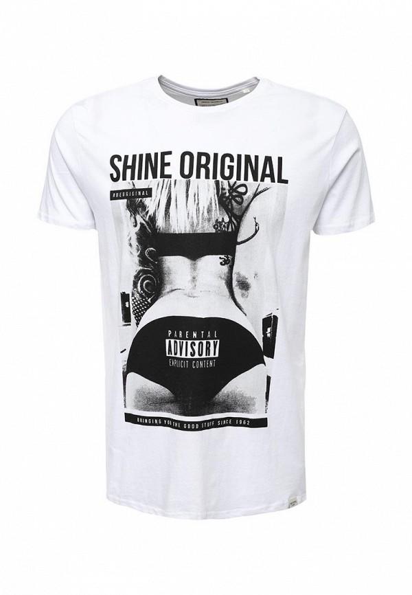 цена Футболка Shine Original Shine Original SH980EMWGF43 онлайн в 2017 году