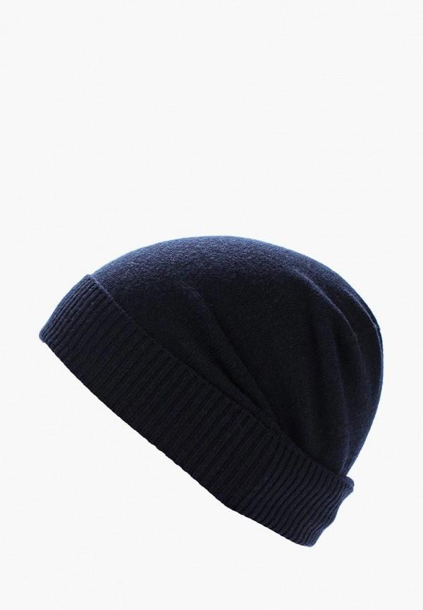 Фото - мужскую шапку Sisley синего цвета