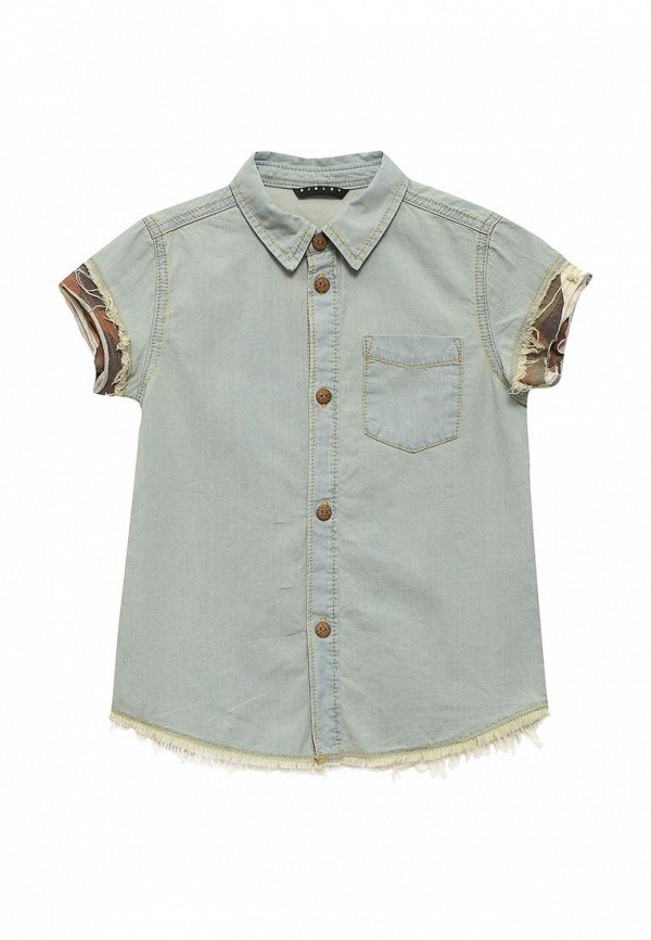 Рубашка джинсовая Sisley Sisley SI007EBSAI10 куртка джинсовая sisley sisley si007egsic26