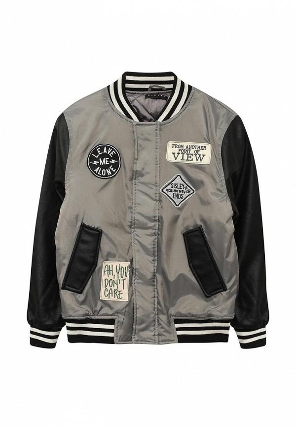 Куртка утепленная Sisley Sisley SI007EBWLL37 лонгслив sisley sisley si007egwll55