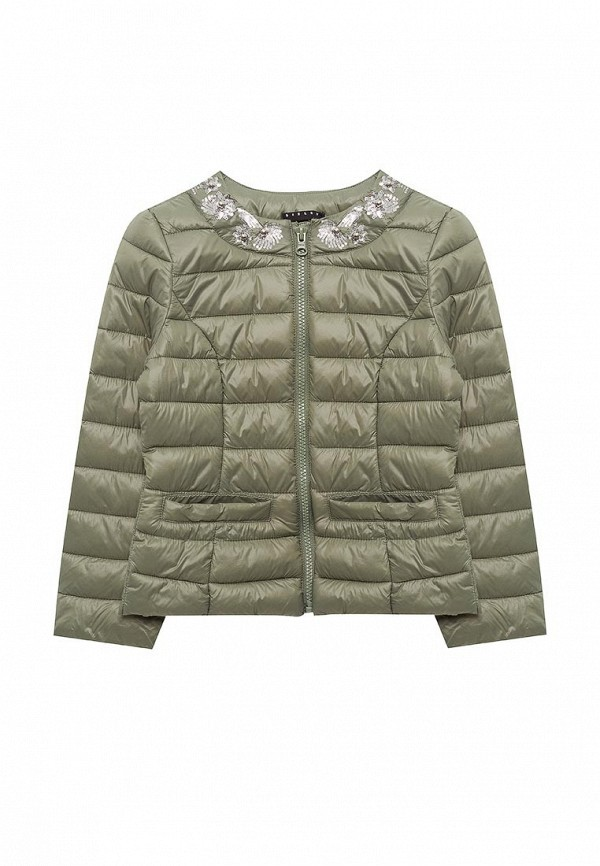 Куртка утепленная Sisley Sisley SI007EGACFB8 лонгслив sisley sisley si007egwll55