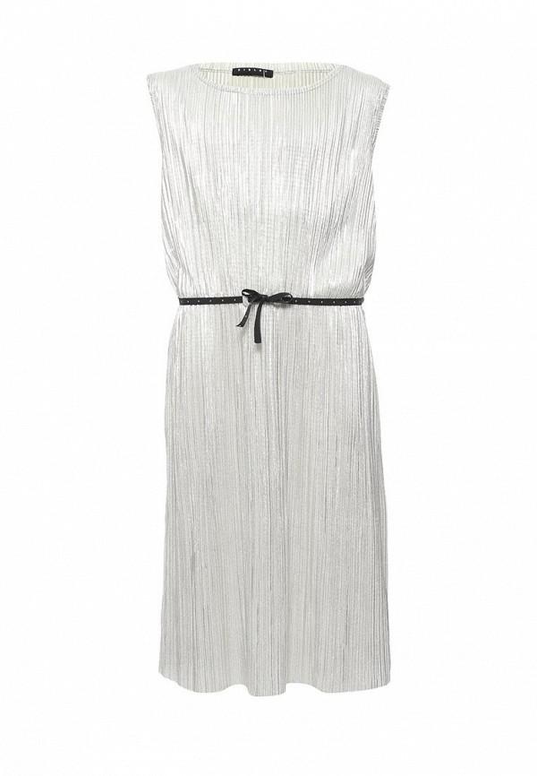 Купить Платье Sisley, SI007EGACFS8, серебряный, Весна-лето 2018