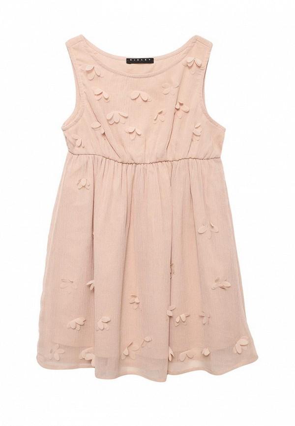 Купить Платье Sisley, SI007EGACFT0, розовый, Весна-лето 2018
