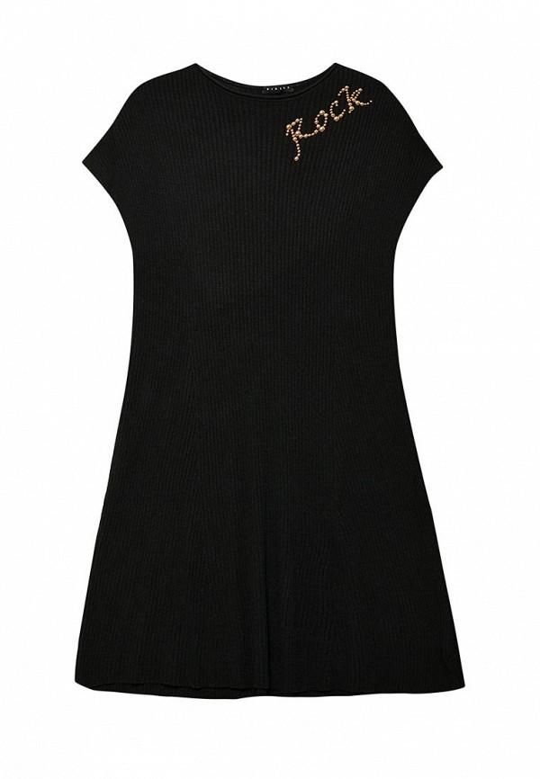 Платье Sisley, SI007EGWLL29, черный, Весна-лето 2018  - купить со скидкой