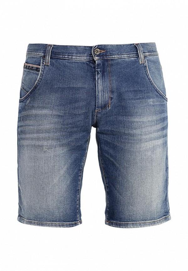 Мужские джинсовые шорты Sisley (Сислей) 4Z4GZ90X9