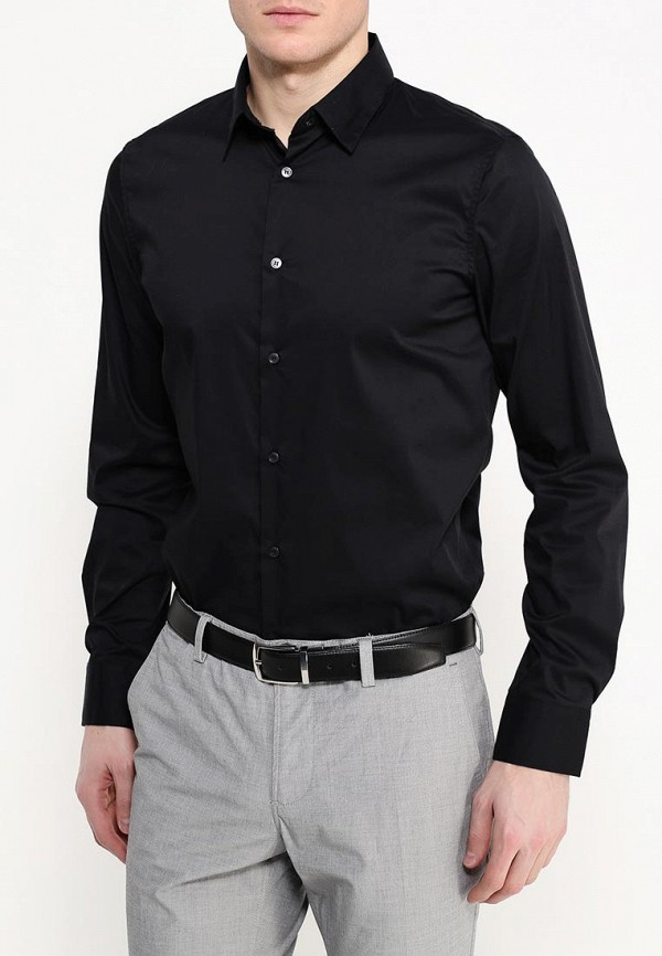 Купить Рубашка Sisley, SI007EMIFN17, черный, Весна-лето 2018