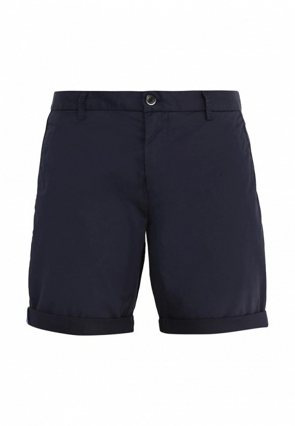 Купить мужские шорты Sisley синего цвета