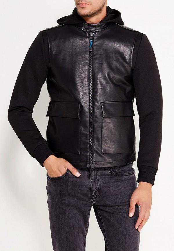 Куртка кожаная Sisley Sisley SI007EMWLU31 лонгслив sisley sisley si007ewxct28