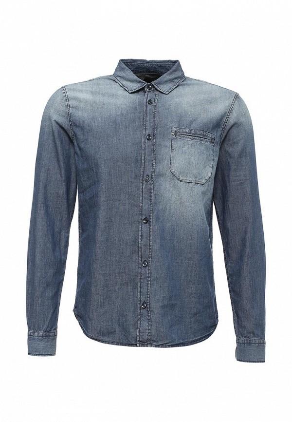 Рубашка джинсовая Sisley Sisley SI007EMWMM36 лонгслив sisley sisley si007egwll55