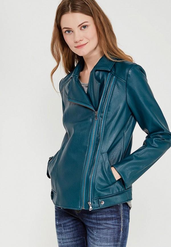 Фото Куртка кожаная Sisley. Купить с доставкой