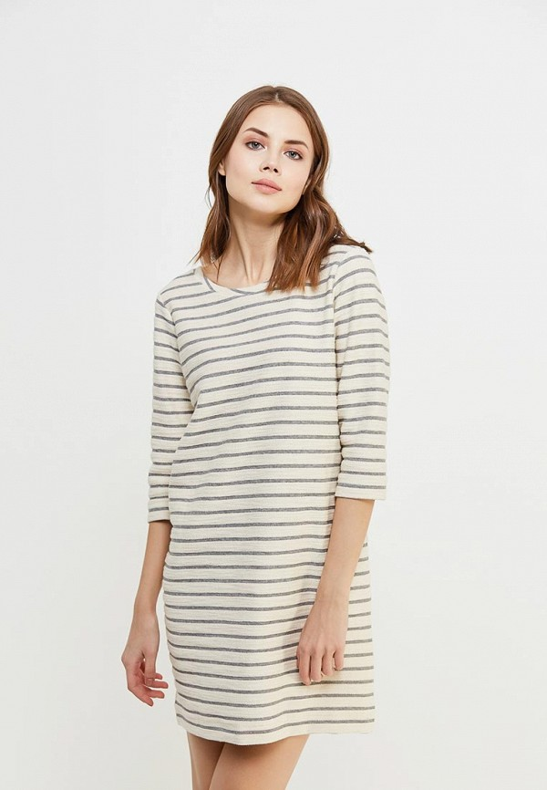 Купить Платье Sisley, SI007EWAGGL5, бежевый, Весна-лето 2018