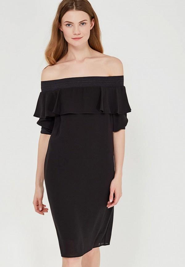 Купить Платье Sisley, SI007EWAGGN5, черный, Весна-лето 2018