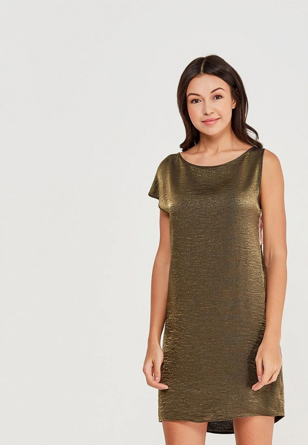 Купить Платье Sisley, SI007EWAGGP1, хаки, Весна-лето 2018