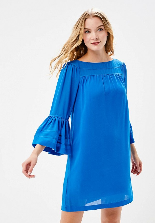 Купить Платье Sisley, SI007EWARTR3, синий, Весна-лето 2018