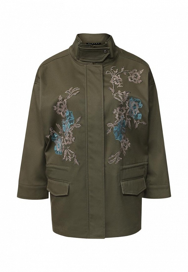 Утепленная куртка Sisley 2AUZ533W7