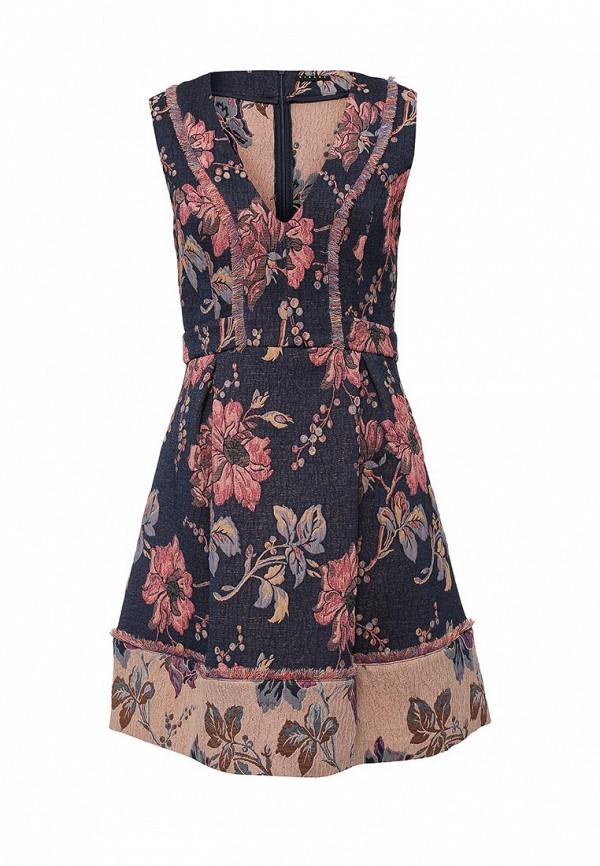 Платье-миди Sisley (Сислей) 4C2LSV9C6