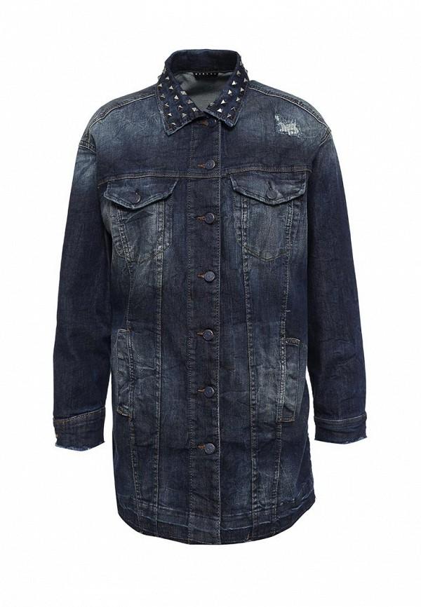 Куртка джинсовая Sisley Sisley SI007EWPIP45 куртка джинсовая sisley sisley si007egsic26