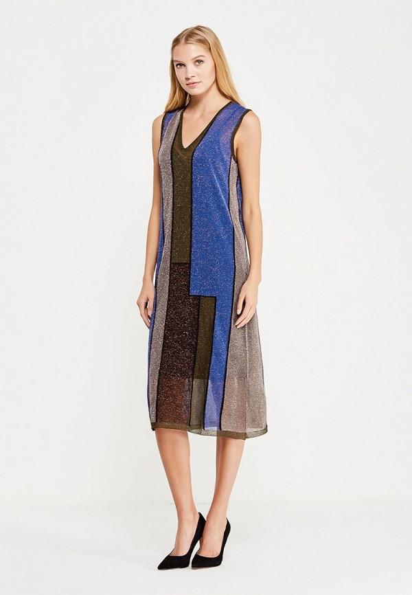 Платье Sisley Sisley SI007EWWLR36 лонгслив sisley sisley si007egwll55