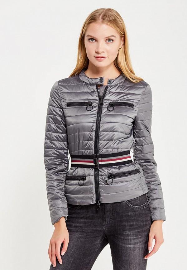 Куртка утепленная Sisley Sisley SI007EWWLT50 лонгслив sisley sisley si007egwll55