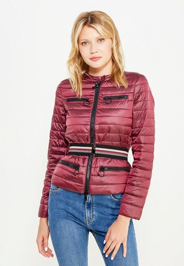 Куртка утепленная Sisley Sisley SI007EWWLT51 лонгслив sisley sisley si007egwll55