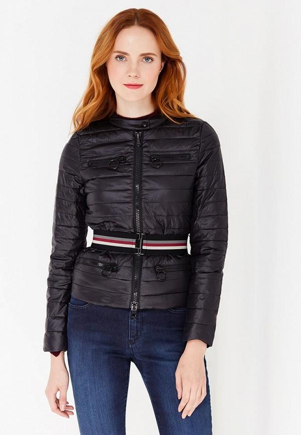 Куртка утепленная Sisley Sisley SI007EWWLT52 лонгслив sisley sisley si007egwll55