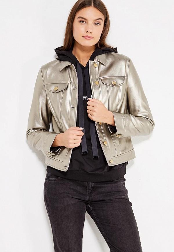 Куртка кожаная Sisley Sisley SI007EWWLT57 куртка джинсовая sisley sisley si007egsic26