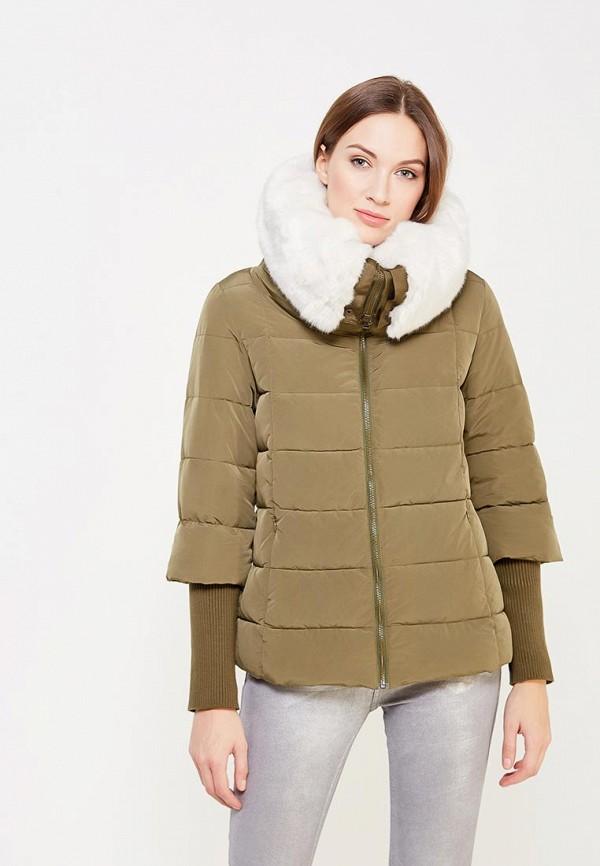 Куртка утепленная Sisley Sisley SI007EWXOB45 лонгслив sisley sisley si007egwll55