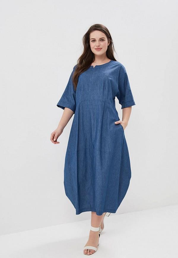 Платье джинсовое Silver String Silver String SI021EWBFDX9