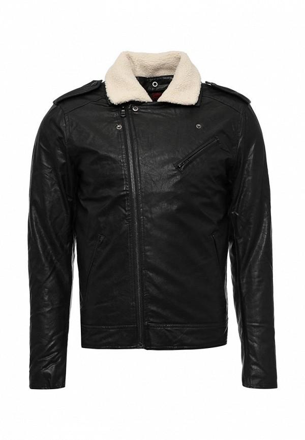 Кожаная куртка Sixth june AV139237 Noir Beige