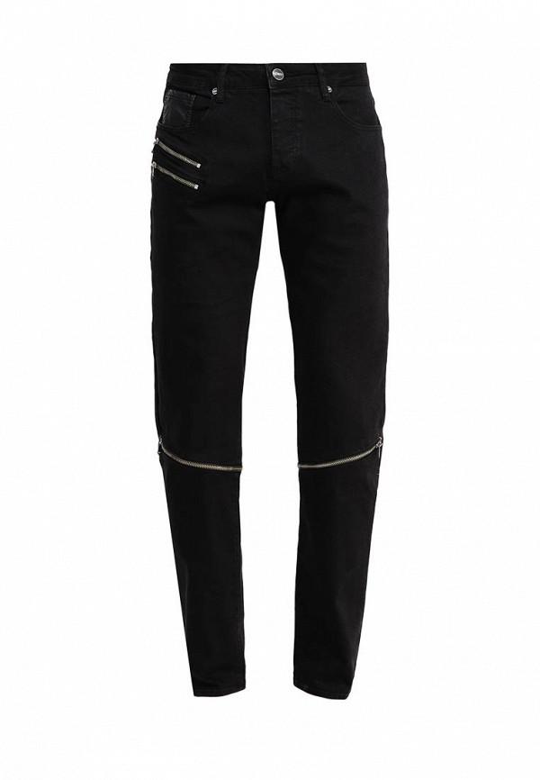Зауженные джинсы Sixth june KV137772 noir