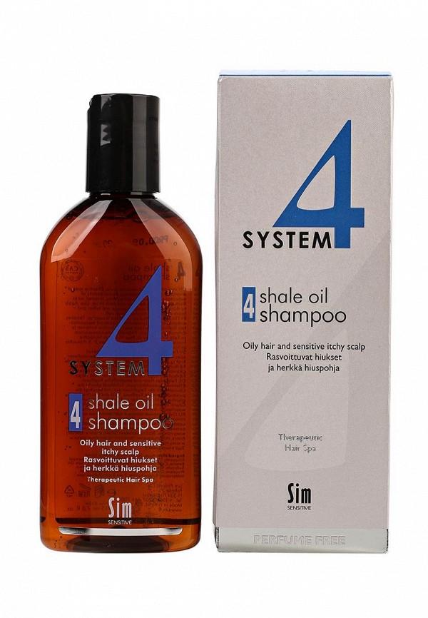 Sim Sensitive Терапевтический № 4 SYSTEM 4  Shale Oil Shampoo 4 , 215 мл dn8 4 sim в запорожье