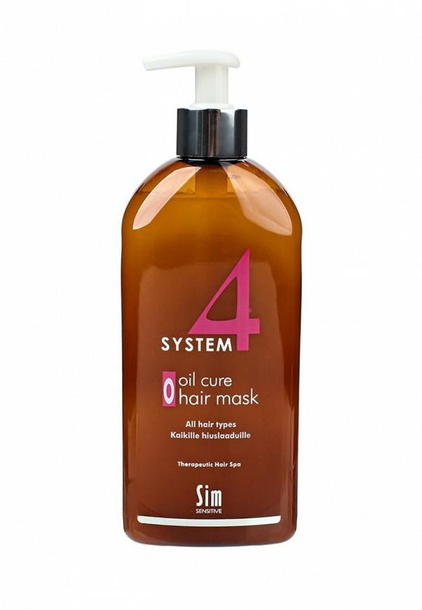 Sim Sensitive Терапевтическая  SYSTEM 4  Oil Cure Hair Mask O , 500 мл dn8 4 sim в запорожье