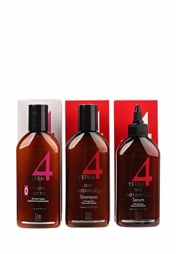 Купить Набор для ухода за волосами Sim Sensitive, от выпадения SYSTEM 4, 215 мл, SI024LWPLI27, Весна-лето 2018
