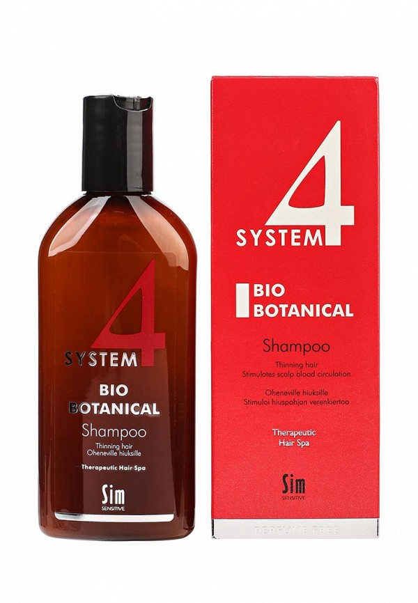 Sim Sensitive Био Ботанический SYSTEM 4 Bio Botanical Shampoo Био, 215 мл dn8 4 sim в запорожье