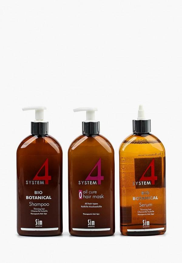 Набор для ухода за волосами Sim Sensitive, от выпадения SYSTEM 4, 500 мл, SI024LWPLI33, Весна-лето 2018  - купить со скидкой