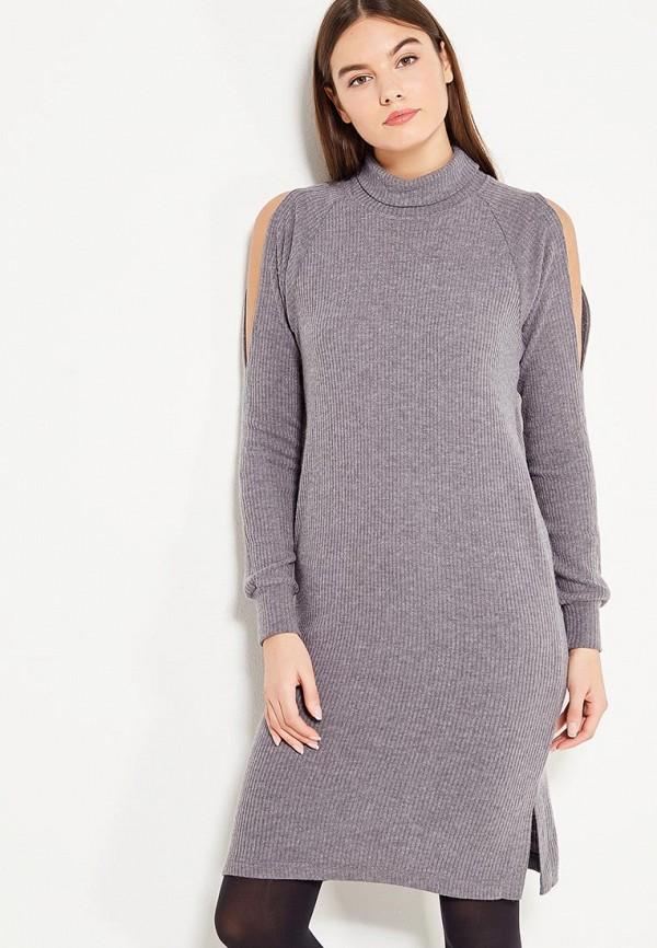 Фото - женское платье Sitlly серого цвета