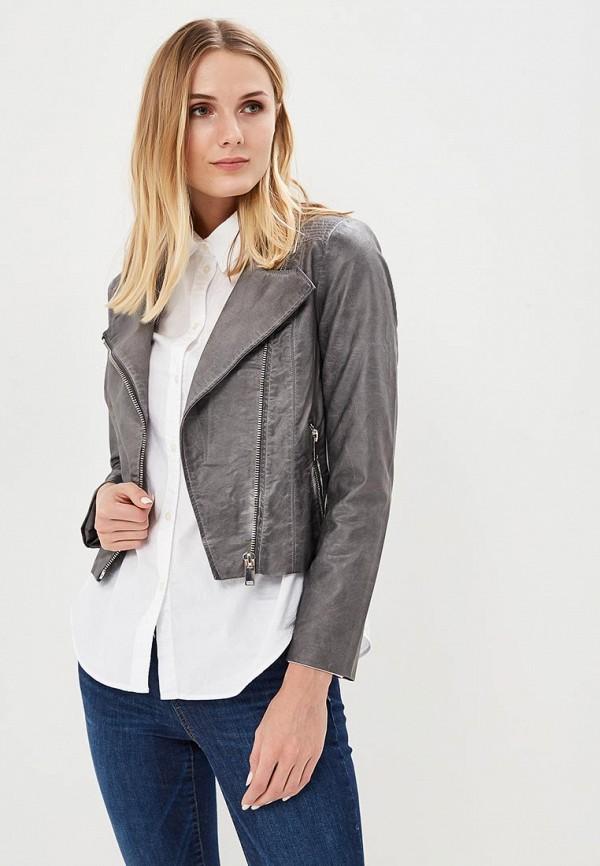 Куртка кожаная Silvian Heach Silvian Heach SI386EWRHW12 свитер silvian heach cva17744ma grey mediu