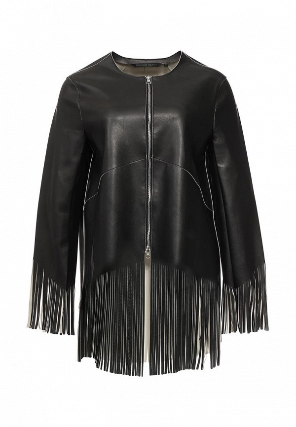 Кожаная куртка Silvian Heach PGP16903GB